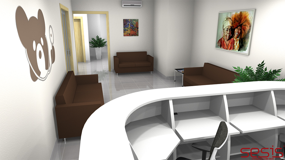Layout 3D Iramar Clinic